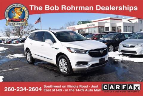 2018 Buick Enclave for sale at BOB ROHRMAN FORT WAYNE TOYOTA in Fort Wayne IN