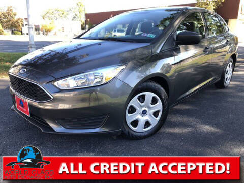 2018 Ford Focus for sale at World Class Auto Exchange in Lansdowne PA