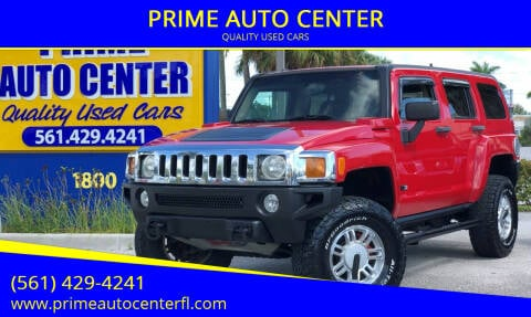 2006 HUMMER H3 for sale at PRIME AUTO CENTER in Palm Springs FL