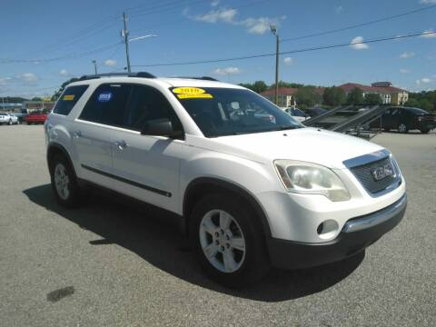 2010 GMC Acadia for sale at Kelly & Kelly Supermarket of Cars in Fayetteville NC