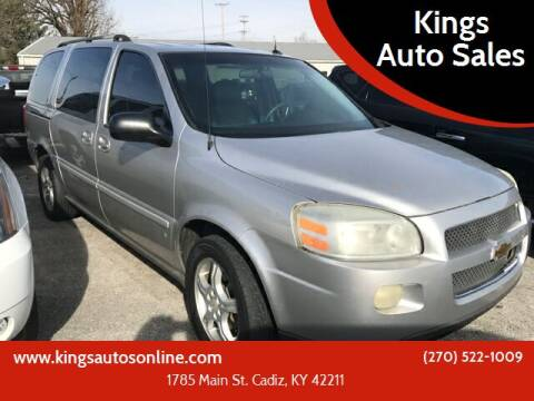 2006 Chevrolet Uplander for sale at Kings Auto Sales in Cadiz KY