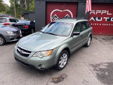 2009 Subaru Outback for sale at Apple Auto Sales Inc in Camillus NY