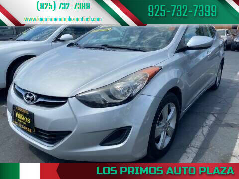 2013 Hyundai Elantra for sale at Los Primos Auto Plaza in Antioch CA