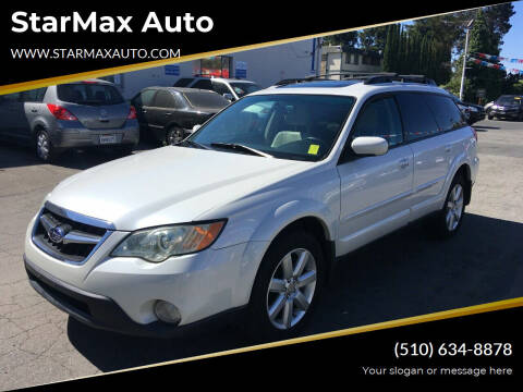 2008 Subaru Outback for sale at StarMax Auto in Fremont CA