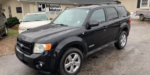 2008 Ford Escape for sale at Mama's Motors in Greer SC
