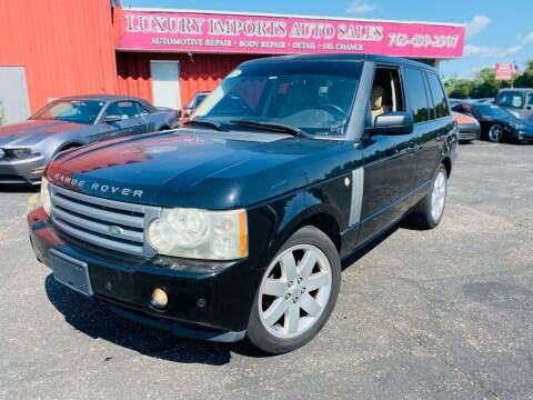 2007 Land Rover Range Rover for sale at LUXURY IMPORTS AUTO SALES INC in North Branch MN