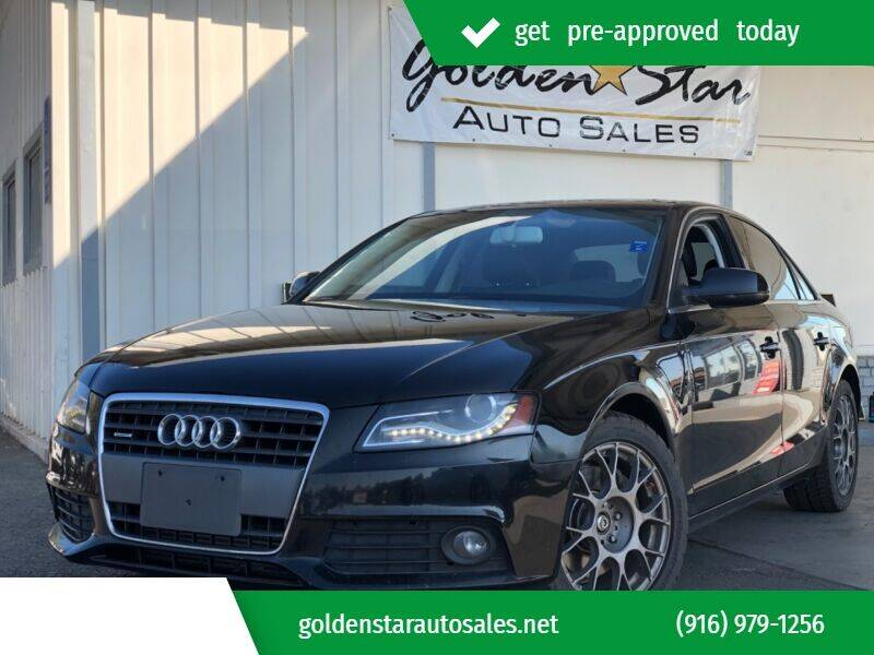 2012 Audi A4 for sale at Golden Star Auto Sales in Sacramento CA
