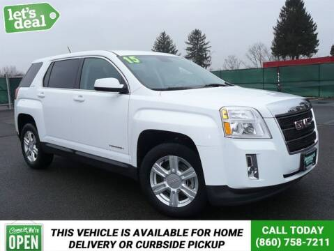 2015 GMC Terrain for sale at Shamrock Motors in East Windsor CT