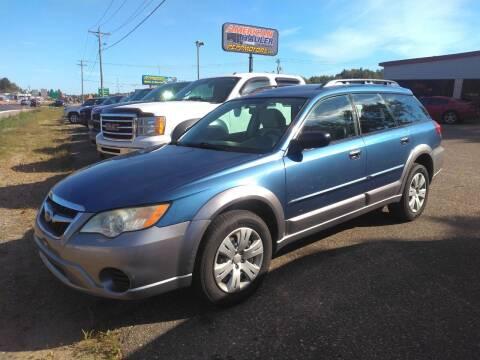 2008 Subaru Outback for sale at Superior Auto of Negaunee - Pepp Motors in Marquette MI