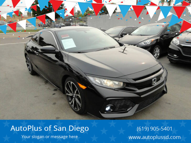 2017 Honda Civic for sale at AutoPlus of San Diego in Spring Valley CA