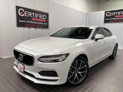 2018 Volvo S90 for sale at CERTIFIED AUTOPLEX INC in Dallas TX