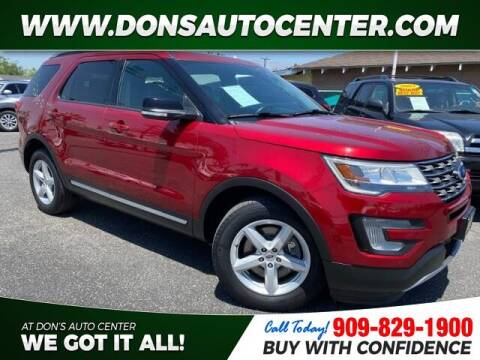 2017 Ford Explorer for sale at Dons Auto Center in Fontana CA