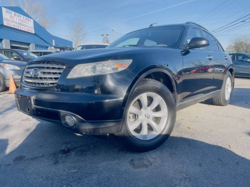 2004 Infiniti FX35 for sale at Capital Motors in Raleigh NC