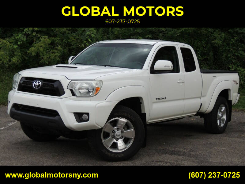 2012 Toyota Tacoma for sale at GLOBAL MOTORS in Binghamton NY