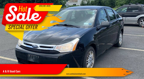 2009 Ford Focus for sale at A & R Used Cars in Clayton NJ