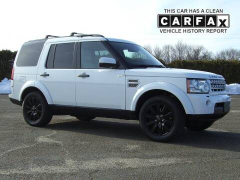 2013 Land Rover LR4 for sale at Atlantic Car Company in East Windsor CT