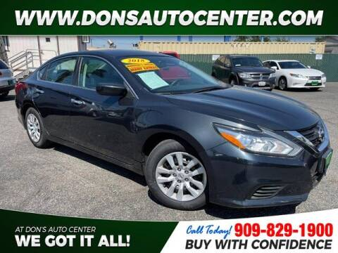 2018 Nissan Altima for sale at Dons Auto Center in Fontana CA