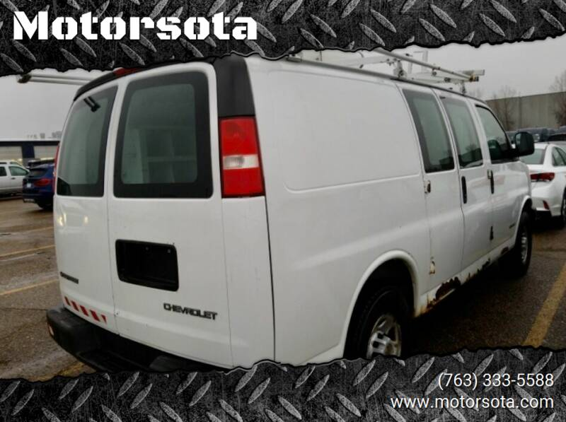 2005 Chevrolet Express Cargo for sale at Motorsota in Becker MN