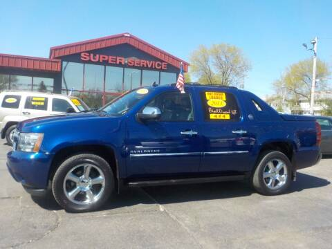 2013 Chevrolet Avalanche for sale at Super Service Used Cars in Milwaukee WI