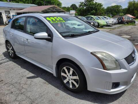 2012 Nissan Sentra for sale at Rocket Center Auto Sales in Mount Carmel TN