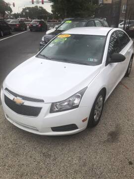 2014 Chevrolet Cruze for sale at Z & A Auto Sales in Philadelphia PA