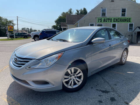 2011 Hyundai Sonata for sale at J's Auto Exchange in Derry NH
