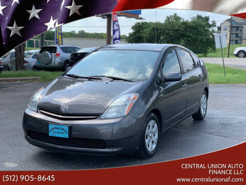 2009 Toyota Prius for sale at Central Union Auto Finance LLC in Austin TX