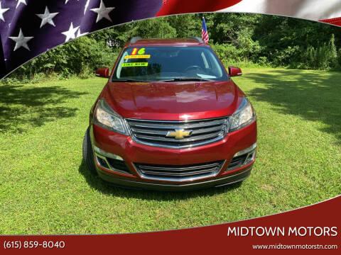 2016 Chevrolet Traverse for sale at Midtown Motors in Greenbrier TN
