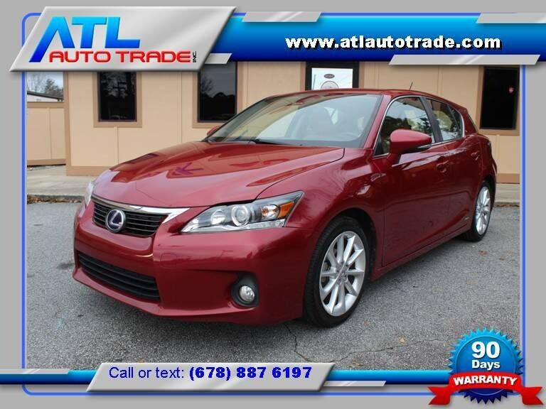 2011 Lexus CT 200h for sale at ATL Auto Trade, Inc. in Stone Mountain GA