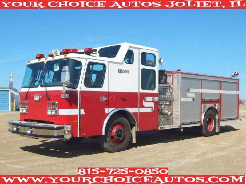 2001 Emergency One Single Axle for sale at Your Choice Autos - Joliet in Joliet IL