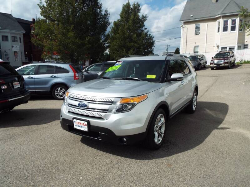 2012 Ford Explorer for sale at FRIAS AUTO SALES LLC in Lawrence MA
