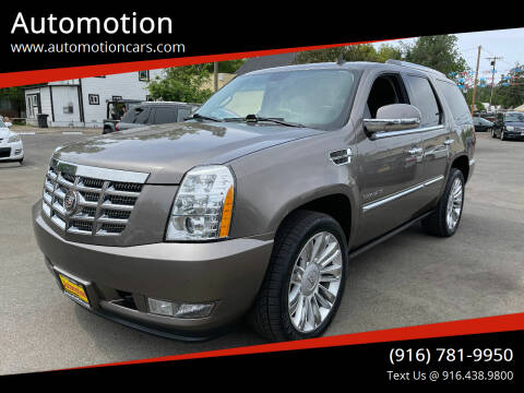 2011 Cadillac Escalade for sale at Automotion in Roseville CA