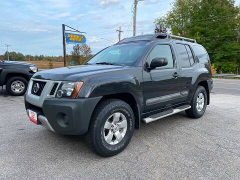 2012 Nissan Xterra for sale at Dubes Auto Sales in Lewiston ME