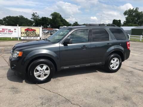 2009 Ford Escape for sale at Cordova Motors in Lawrence KS