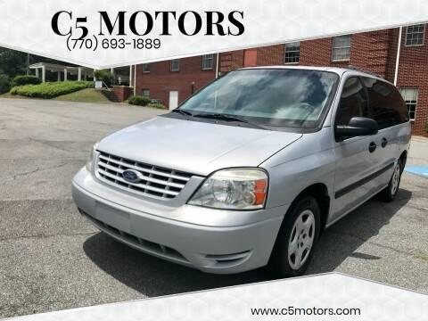 2007 Ford Freestar for sale at C5 Motors in Marietta GA