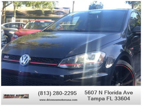 2017 Volkswagen Golf GTI for sale at Drive Now Motors USA in Tampa FL