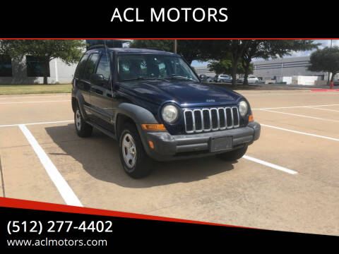 2006 Jeep Liberty for sale at ACL MOTORS in Austin TX