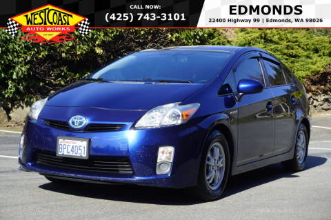 2010 Toyota Prius for sale at West Coast Auto Works in Edmonds WA