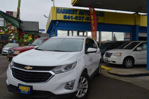 2019 Chevrolet Equinox for sale at Earnest Auto Sales in Roseburg OR