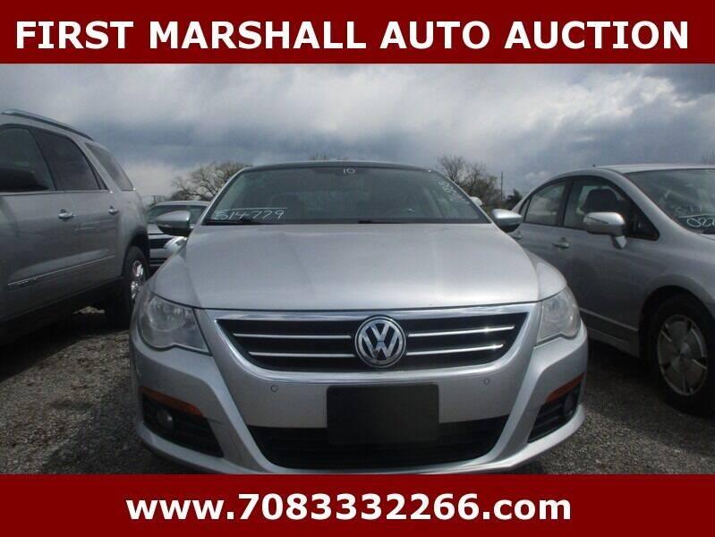 2010 Volkswagen CC for sale in Harvey, IL