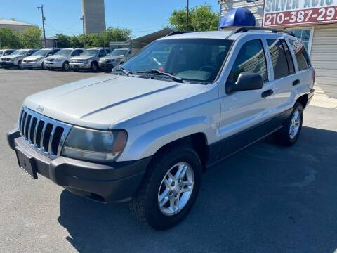 2003 Jeep Grand Cherokee for sale at Silver Auto Partners in San Antonio TX