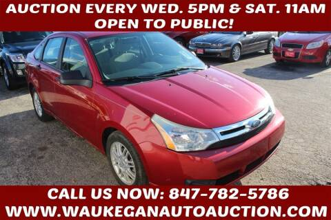2010 Ford Focus for sale at Waukegan Auto Auction in Waukegan IL