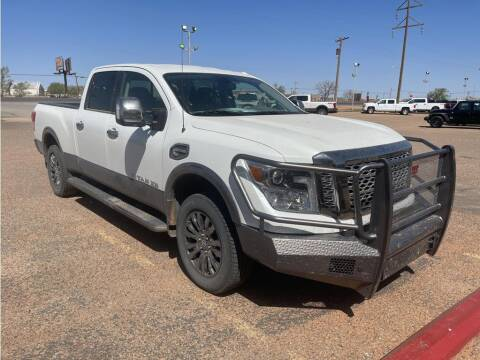 2017 Nissan Titan XD for sale at STANLEY FORD ANDREWS in Andrews TX