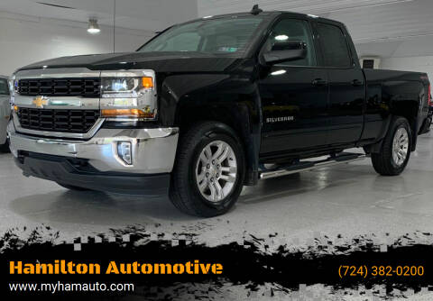 2017 Chevrolet Silverado 1500 for sale at Hamilton Automotive in North Huntingdon PA