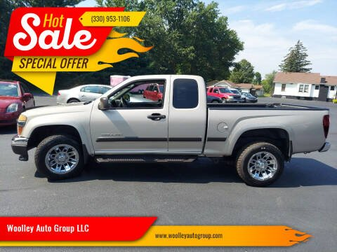 2004 GMC Canyon for sale at Woolley Auto Group LLC in Poland OH