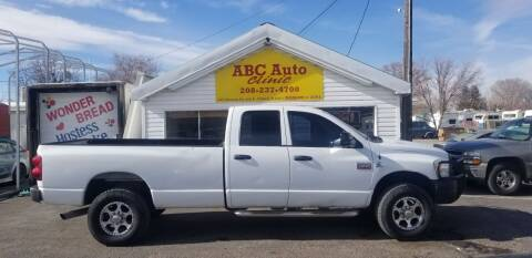 2008 Dodge Ram Pickup 3500 for sale at ABC AUTO CLINIC - Chubbuck in Chubbuck ID