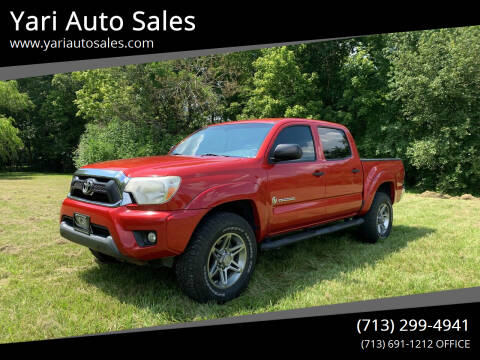 2013 Toyota Tacoma for sale at Yari Auto Sales in Houston TX