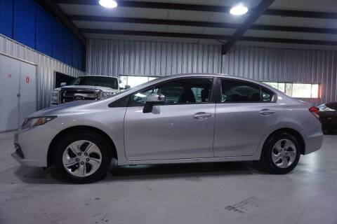 2014 Honda Civic for sale at SOUTHWEST AUTO CENTER INC in Houston TX