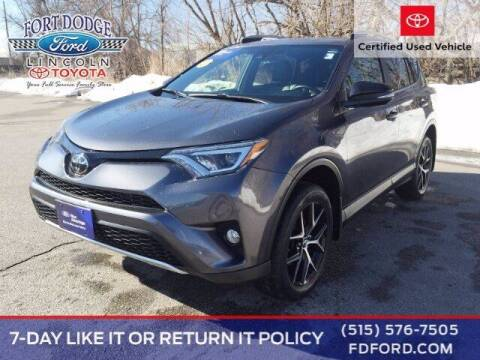 2018 Toyota RAV4 for sale at Fort Dodge Ford Lincoln Toyota in Fort Dodge IA