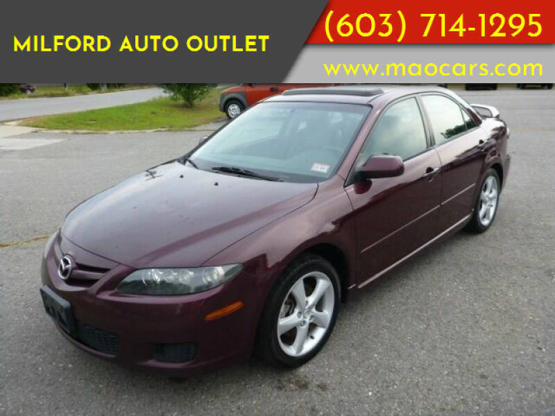 2007 Mazda MAZDA6 for sale at Milford Auto Outlet in Milford NH